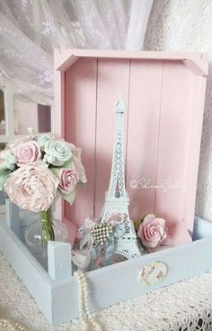 Style Paris shabby chic