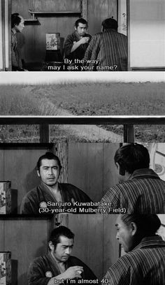 Toshiro Mifune is the man.