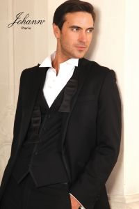 johann - Smoking Gansé Smoking, Marie, Costumes, Suit Jacket, Blazer, Jackets, Collection, Wedding, Fashion