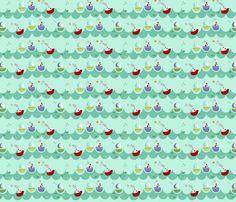 A day at sea fabric by phatsheepfabrics on Spoonflower - custom fabric