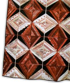 Rubies and Diamonds Tutorial by Regan Purcell through Popular Patchwork