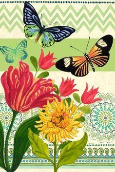 """La Nature Vertical"" By Jennifer Brinley."