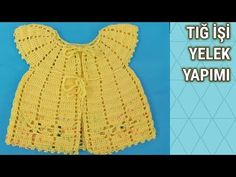How to crochet easy baby vest │Vest Crochet Pattern Crochet Baby, Crochet Top, Creative Embroidery, Kids Outfits, Clothes, Baby Dresses, Handmade, Fashion, Crochet Baby Clothes