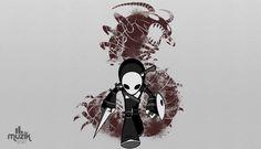 KP by Amanda Cha #skrillex #knifeparty #edm #EDMFamily #TranceFamily #edmarena #muzikshirt #rave #rage Knife Party, Trance, Edm, Amanda, Darth Vader, Graphic Design, Illustration, Anime, Fictional Characters