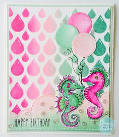Yenni Paper Love Amazing Backgrounds, Distress Ink, Under The Sea, Card Making, Happy Birthday, Inspirational, Crafty, Love, Tags