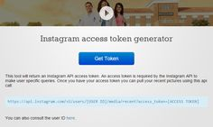 Use this guide from New Ideas Unlimited to generate your Instagram Access Token in 3 simple steps. No programming knowledge needed.