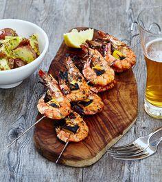 CRAIG HART RECIPE: SKEWER OF THAI CITRUS MARINATED WHOLE KING PRAWNS  Read more at: http://foodanddrink.scotsman.com/recipes/craig-hart-recipe-skewer-of-thai-citrus-marinated-whole-king-prawns/.