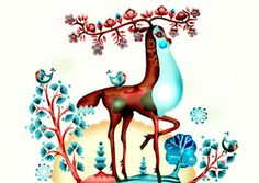 i have been hooked on and mesmerized by finnish illustrator/decorator klaus haapaniemi for quite some time, but after i first saw his line o. Art And Illustration, Pattern Illustration, Russian Art, Character Concept, Scandinavian Design, Vintage Images, Illustrators, Folk Art, Art Prints