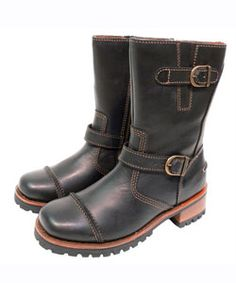 Harley Davidson Women's Leather Motorcycle Boots