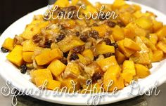 Healthy Recipe: Savory Slow Cooker Squash and Apple Dish Read http://thecurls.com/healthy-recipe-savory-slow-cooker-squash-and-apple-dish/ Try and enjoy! #TheCurls #healthyeating #healthyrecipes