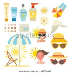 Care cream skin protection and beauty body care protection lotion. Summer time, health beach safety sunscreen sea vacation. Cancer prevention infographic vector