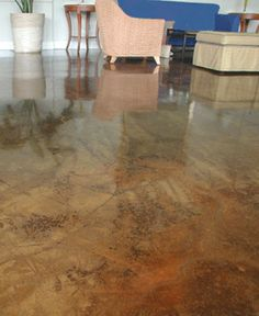 Concrete Stain Az Stained Arizona Acid Pool Deck Repair Cement