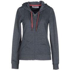Only Sweatshirt ($52) ❤ liked on Polyvore featuring tops, hoodies, sweatshirts, grey, zipper top, sweatshirts hoodies, sweat shirts, sweat tops and grey sweat shirt
