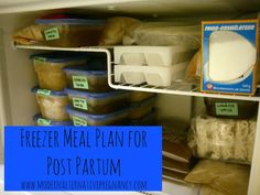 Preparing a Postpartum Freezer Meal Plan | Modern Alternative Pregnancy