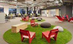 Studies show that #CreativeOfficeSpaces increases the level of productivity amongst emloyees
