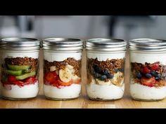 Fruit 'N' Yogurt Parfait Family Meal-Prep - YouTube