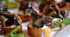 Marinated mushroom canape | Imagination Food Design - Port elizabeth