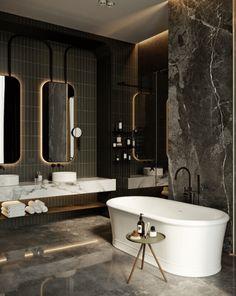 Gorgeous Apartment Bathroom Design Ideas for Men Grey Bathroom Interior, Apartment Bathroom Design, Apartment Interior Design, Interior Decorating, Small Bathroom Mirrors, Dark Bathrooms, Amazing Bathrooms, Small Dark Bathroom, Grey Bathrooms Designs