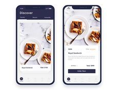 Food Order App designed by Nazmul Hassan. Connect with them on Dribbble; the global community for designers and creative professionals. Flat Web Design, Web Ui Design, Design Design, Web Layout, Layout Design, Flat Ui, Design Thinking, Ui Design Mobile, Design Responsive