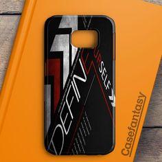 Define Yourself Red Samsung Galaxy S7 Case | casefantasy