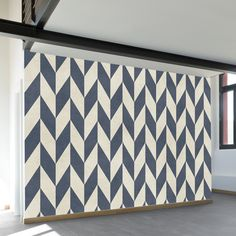 Clever painting is all about illusion and choosing wall paint for small spaces is the epitome of this concept. Gone are the days when the only color that could possibly used as wall paint for small sp Chevron Wall, Decor, Chevron Wall Art, Wall Paint Designs, Beautiful Wall, Wall Paint Patterns, Room Wall Painting, Wall Painting Decor, Diy Wall Painting