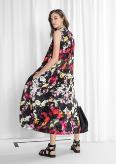 & Other Stories image 1 of Floral Dress in Floral Print