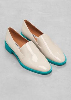 & Other Stories   Patent Leather Slippers