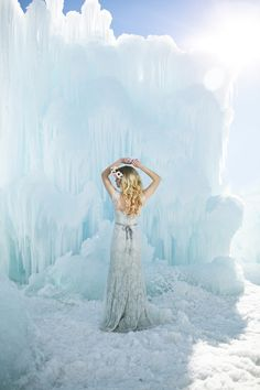 Ethereal Bridal Shoot Based on The Movie Frozen - Fab You Bliss
