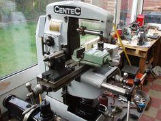 Centec 2b mill Horizontal Milling Machine, Cnc, Metal Mill, Metal Forming, Maker Shop, Man Cave Garage, Machine Tools, Tools And Equipment, Cool Tools