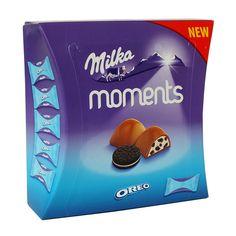 Два любимых детских бренда - Milka и Oreo опять вместе! Теперь в шоколадных конфетах Milka Moments! Нежный молочный крем с... Oreo, In This Moment, Drinks, Drinking, Drink, Cocktails