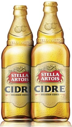 Stella Artois Cidre.  I still don't get the appeal of this company, but I'm only one person.