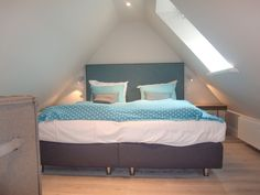 Schlafkoje im Spitzboden Bilder Zimmer Apartmenthaus Gurtdeel 4