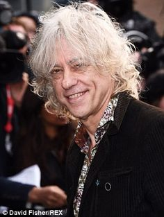 Geldof said Oscar-winner Adele 'ignored' his plea for her to sing on the re-recorded Do They Know It's Christmas Time? Brenda Ann Spencer, The Boomtown Rats, Eighties Music, Rat Boy, Bob Geldof, Oscar Winners, Band Aid, Famous Faces, Pink Floyd
