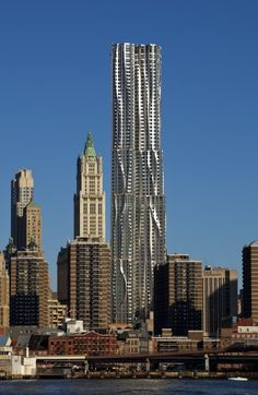 New York by Gehry 8 Spruce St New York, NY 10038 États-Unis