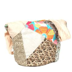 Nikky by Nicole Lee 'Iris' Patchwork Sling Bag | Overstock.com Shopping - The Best Deals on Tote Bags