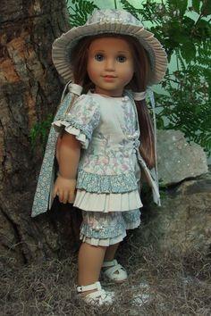 "MHD Designs - 2012 Summer Collection - ""Secret Garden"" for 18 Inch American Girl Dolls"