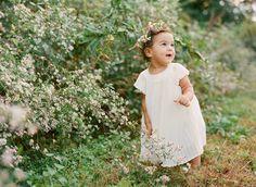 littlest flower girl