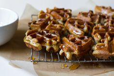 honey dipped doughnut waffles / edible perspective