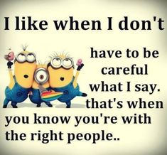 Not a huge fan of minions... But! I like when I don't have to be careful wha...
