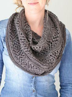 Knit - Adama Cowl Knit Pattern - #RAK0930