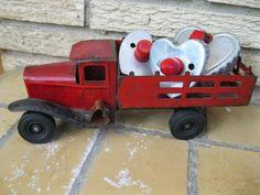 cookie cutters in red truck