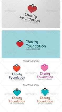 Charity Foundation Logo Template