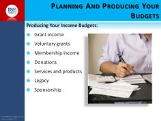 More on planning your budgets