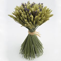 http://m.notonthehighstreet.com/shropshirepetals/product/lavender-wheat-sheaf Centrepiece or bouquet?