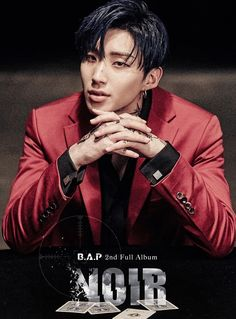 B.A.P full album <NOIR> 커버 이미지(Cover Image) -- Why do Jongup keeps on getting hotter and hotter every comeback? B A P Himchan, Youngjae, 2ne1, Got7, Rapper, Bang Yongguk, Hip Hop, I Need U, Korean Boy