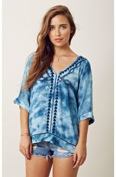 Free People Next Level Woven Top