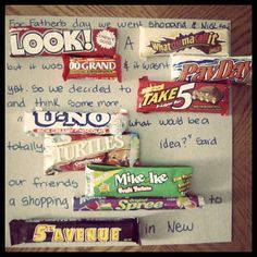 48 best cards made with candy bars and poster board images
