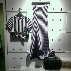 Dare yourself to try a different look. This #ootd is available in-store. #fashion #fashionista #fashionblogger #chicago #chicagoblogger  #blogger #trend #trendy #stylish #style #newlook #newarrivals  #stripes  #blackandwhite #modern #contemporary #unique #follow #followforfollow #follow4follow #like #likeforlike  #like4like