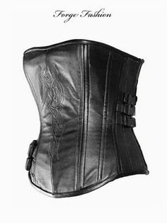 Custom Made 'Underworld' Corset & Cuffs ready for by Forgefashion, $600.00