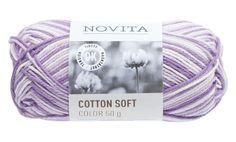 Novita Cotton Soft Color Syreeni - Neulominen - Tokmanni